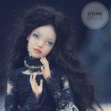 Авторская шарнирная кукла SeVlaNaDolls на выставке Dollscar