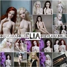 Авторская шарнарная кукла SeVlaNaDolls, Элия, новые фото