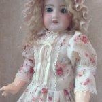 Платье для антикварных кукол и кукол реплик ростом 55-72см.