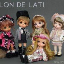 Вопрос ожидающим кукол из серии Salon de lati (Yellow)