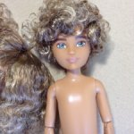 Кукла Creatable world с париком