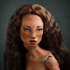 Лита Лэстрейндж прекрасная волшебница. Фарфоровая шарнирная кукла