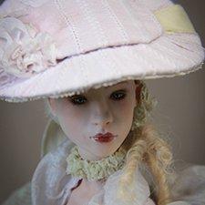 Маркиза М. Фарфоровая шарнирная кукла