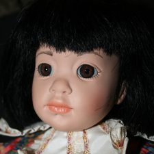 "Кукла Hildegard Gunzel 16"" Yam"