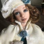 Изящная авторская куколка Агния. Срочно — 20000!!!