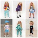 одежда в ассортименте на кукол Gotz