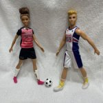 Лот Барби и Кен, две куклы по цене одной
