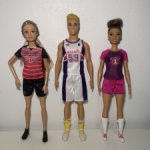 Лот Три куклы по цене одной: Барби, Люси и Кен