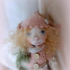 Смешная девчонка Фанни. Кукла из танки