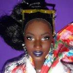 Barbie Барби BMR1959 темнокожая пышка, афроамериканка Паззет.