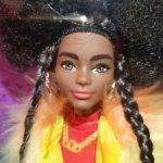Кукла Барби Barbie Extra №1. Темнокожая. Новинка!