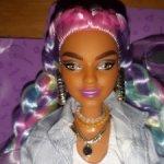 Кукла Барби Экстра радужные косички Дайя. Barbie Extra.При быстрой оплате и только сегодня 1850р.