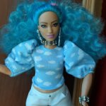 Одежда от разных  кукол Барби, фирменная, Маттел