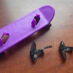 Скейт для кукол Барби от Барби скейтбордистка