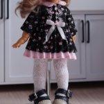 Платье и туфельки на куклу лати, пукифи.