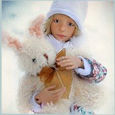 Мы зиму любим за снег в ладошках...