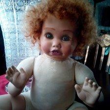 Фарфоровая кукла Cindy Rolfe. Переделка
