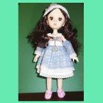 Шарнирная куколка 25 см
