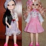 3 шарнирные куклы 28 см в одежде и обуви