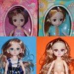 Шарнирные куколки 15см - есть новая рыженькая