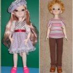 Шарнирные куклы 25 и 28 см в одежде и обуви - новогодние скидки