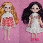 Шарнирные куколки 19см (новое тело 15см)