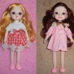Шарнирная куколка 19см (новое тело 15см)