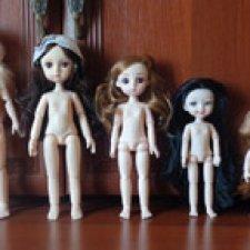 Тела и мерки шарнирных куколок от 15 до 28см