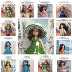Мастер-классы по вязанию для кукол типа  Paola Reina 32-34 см.