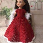Вязанные наряды для кукол Paola Reina 32-34 см