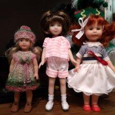 Малышка Мари (Heartstring Dianna Effner) и ее подруги / сравнение кукол