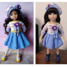 Сравнение кукол mini Maru & friends и Little Darling