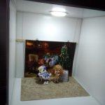 Фотобокс разборный с освещением для фотосессий кукол или игрушек