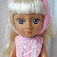 Куколка-балерина 33 см в розовом