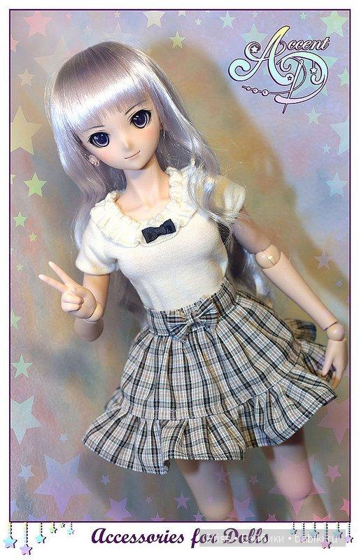 Юбка DD, DDS, Smart Doll автор Priss Asagiri, AccentD