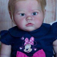 Хочу показать Exclusive, куколку реборн из молда Sharlamae от Bonnie Brown