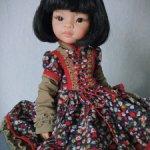 Платье для куклы Паола рейна