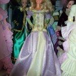 Платье от Барби принцессы на горошине