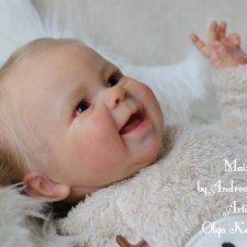 Моя куколка реборн Maizie #1