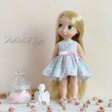 Мастер-класс платья для кукол Disney Animators