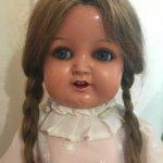 Антикварная куколка от Schildkrot !