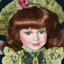 Фарфоровая кукла Remeco Collection , Англия