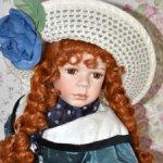 Фарфоровая кукла Remeco Collection, Англия