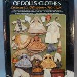 Объемная книга по истории кукольной моды с 400 выкройками, 1975 г