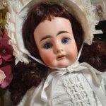 Антикварная куколка Мистери в образе Скарлетт О Хара