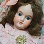 Антикварная кукла Бергман, 53 см