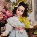 Антикварная кукла Арманд Марсель 1894, 49 см