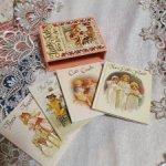 Набор мини репро книжечек для ваших антикварных куколок