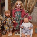 Винтажные комбинезоны для кукол