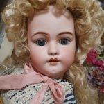 Антикварная невероятно красивая девочка Симон Хальбиг 1079, 58 см